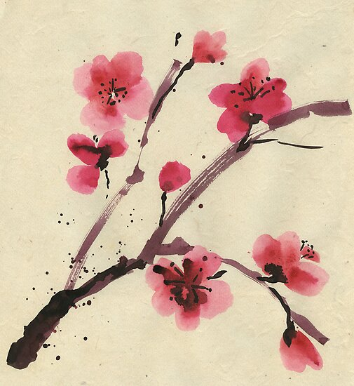 Flowering cherry. Spring. by Svetlana Mikhalevich