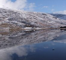 Reflection of Snowdonia Wild Wales by leunig