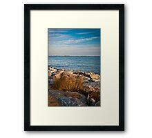 Sandy Point Shoal Lighthouse Framed Print