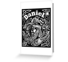 Daniel cover Greeting Card