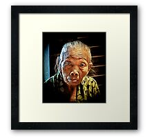 Still Strong.. Framed Print