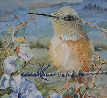 Bird on a Wire by ArtPearl