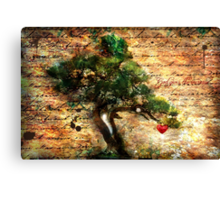 The Harvest: A New Heart Canvas Print