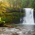 Silver Creek Falls-2 by Zane Paxton