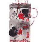 Red Crosses by Margarita Mascaró