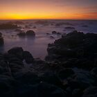 Last Light at Pacific Grove by Zane Paxton