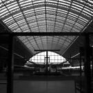 St. Pancras Station. London, England. by jwhimages