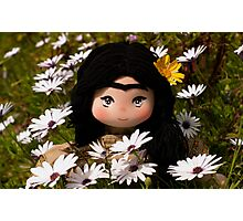 Frida Kahlo doll Photographic Print