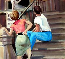 The New Yorkers by Paintvalentine