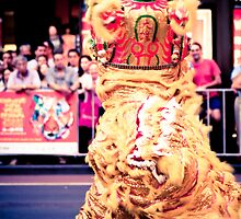Lion Dance in Sydney's Chinese New Year Parade 2010. by pobert