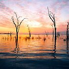 Sunset on Kariba Lake, Zimbabwe by ambermay