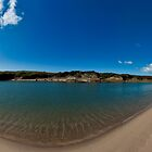 Aberffraw Beach Panorama by ASBO-Allstar