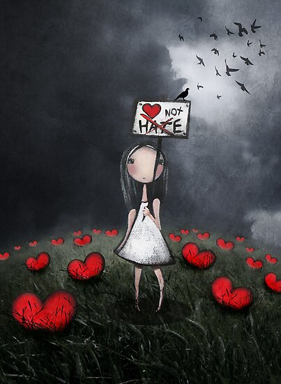 LOve not Hate by Amanda  Cass