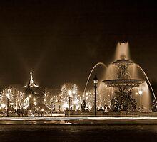 Place de La Concorde by Christophe Faugere