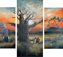 Africa's Big 5 by Cherie Roe Dirksen