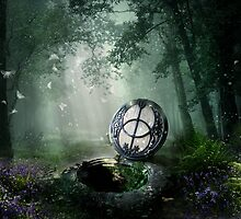 Chalice Well by Angie Latham