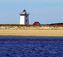 Cape Cod Lighthouse by Monika Fuchs