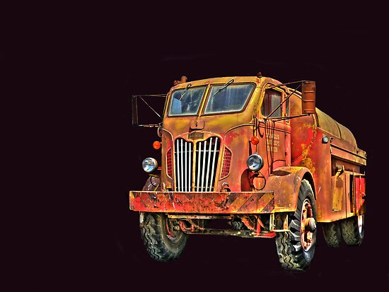 Water Truck  from Corvallis Oregon by pdsfotoart