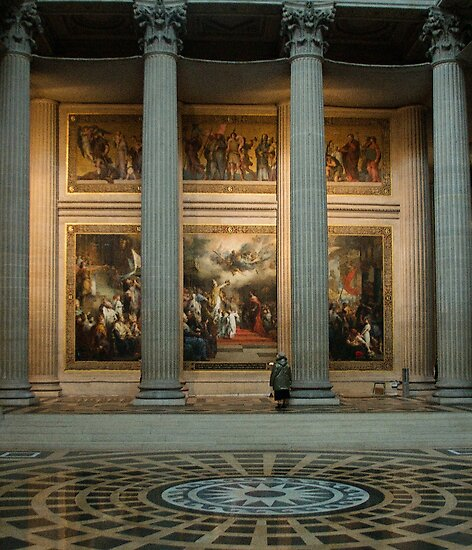 At the Pantheon by Louise Fahy
