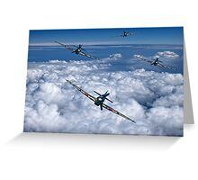 Hurricanes On Your Tail Greeting Card