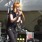 Paramore - Hayley Williams by Topher Webb
