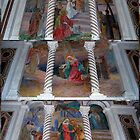 A Collage of Pictoral Scene Mosaics - Cathedral Basilica - St. Louis by barnsis