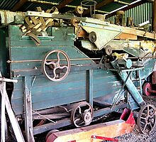 Retired working contraption. Laidley historic society. Qld. Australia by Marilyn Baldey