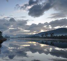 Dawn at Clarks Landing by Mark Hanna