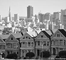 Alamo Square Park, San Francisco by Jesse Hernandez