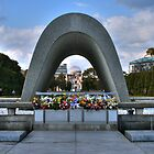 Hiroshima, Japan Peace Memorial by kingstid