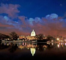 Washington, D.C., Nightscape by Cody McKibben