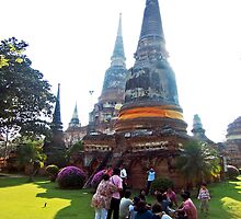 A Leisurely Afternoon at Wat Yai by Cody McKibben
