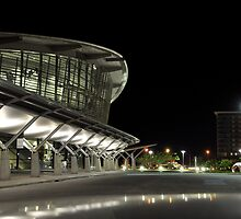 Darwin Convention Centre at Night 2 by pixelninja3000