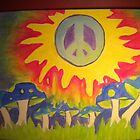 peace in the sun by Samantha  Hall