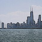 Chicago Across The Lake by allthingsnatura