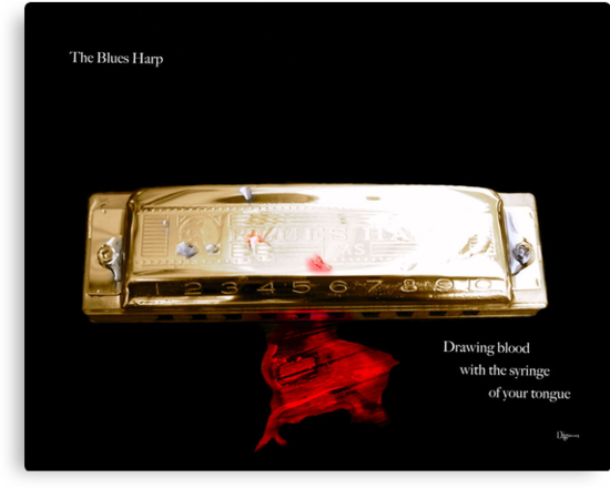 The Blues Harp by ArtbyDigman