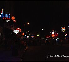 Beale Street in Memphis at Night by DrCharlie