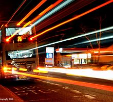 Rapid Bus Trails by Kevin Cotterell