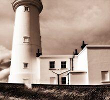Flamborough lighthouse by StephenRB