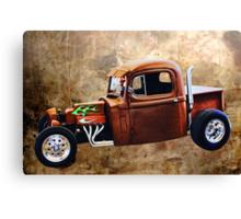 Rat Rod with Semi Cab Canvas Print