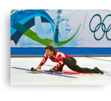 An Olympic Silver Medalist Canvas Print