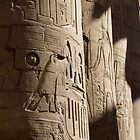 Temple Columns - Luxor by JamesTH