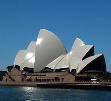 Sydney Opera House on a Summers Day by Mariebel Ferro