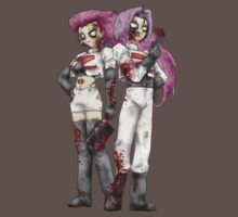 Zombie Jessy and James by RPGesus