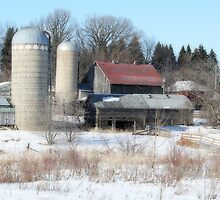 Abandoned Farmstead in Minnesota by livinginoz