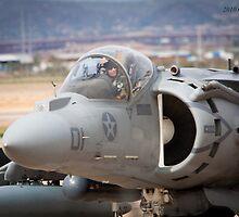 McDonnell-Douglas AV-8B Harrier II by Chris Heising