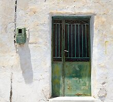 Green Door by Mary Grekos