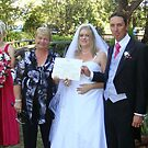 The certificate after the ceremony. by Cheryl J Newman