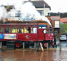 Whitby Steam Bus by TREVOR34