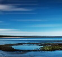 Tidal pool at Seven Mile Beach by Suellen Cook